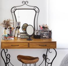 Vanity, Mirror, Bedroom, Decoration, Closet, House, Furniture, Home Decor, Dressing Table Organisation