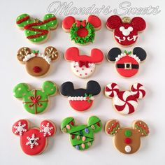 This year I won't be decorating Christmas cookies, so I decided to post a thro. This year I won't be decorating Christmas cookies, so I decided to post a throwback of these i did inspired by still one… Christmas Sugar Cookies, Christmas Sweets, Noel Christmas, Christmas Goodies, Holiday Cookies, Holiday Treats, Christmas Baking, Christmas Cookie Cutters, Pink Cookies