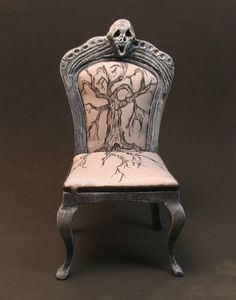 Patricia Paul Studio's spooky ghost chair