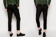 ASOS Super Skinny Fit Cropped Trousers