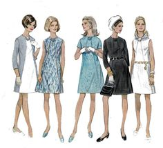 1960s Shift Dress Pattern Diagonal Seams A Line Shift Vintage Pattern Butterick 5307 Sewing Pattern Size 12 Bust 34 inches