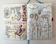 Matthews Fine Art: Bullet Journal - Pages Organization Bullet Journal, Bullet Journal Layout, Bullet Journal Inspiration, Bullet Journals, Art Journals, Calendar Journal, Calendar Pages, Journal Pages, Journal Ideas