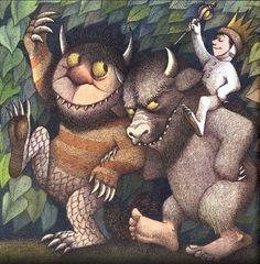 Maurice Sendak, Donde viven los monstruos