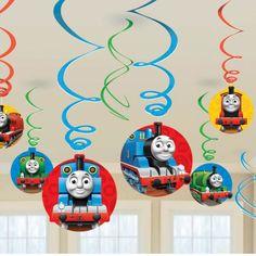thomas the tank engine party hanging swirls - 61cm£3.9912pk