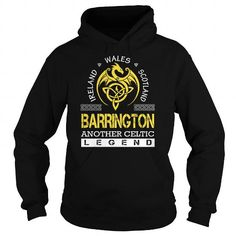 Awesome Tee BARRINGTON Legend - BARRINGTON Last Name, Surname T-Shirt Shirts & Tees