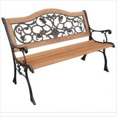 Coral Coast Pleasant Bay 5 Ft Slat Curved Back Outdoor Wood Bench