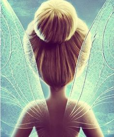 I am a Disney fanatic, and the Disney fairies are the base inspiration for my fairies in Immagica. Tinker Bell's wings are so pretty.