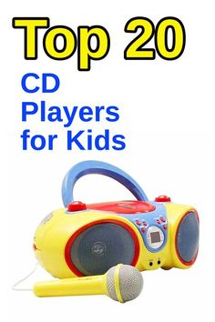 Best CD players for kids rooms and musical activities. Selected children's portable CD players that make the perfect Christmas or birthday presents for kids. Musical Instruments For Toddlers, Musical Toys For Kids, Music For Toddlers, Kids Toys, Best Toddler Gifts, Toddler Girl Gifts, Toddler Girls, Top 5 Christmas Gifts, Inexpensive Christmas Gifts