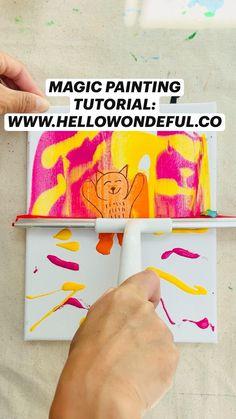 Art Club Projects, School Art Projects, Art Activities For Kids, Preschool Art, Diy For Kids, Crafts For Kids, Art Drawings For Kids, Art N Craft, Art Lesson Plans