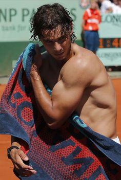 Rafael Nadal Would BeThe Arms Of Spain