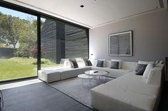 Concrete House II Design by A-cero Architects -