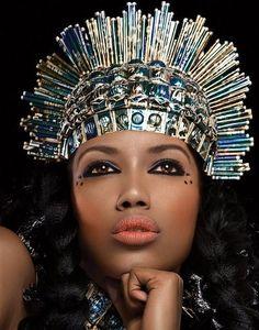 Black Women Queen Art | Black Queens | Forever Black Effusion