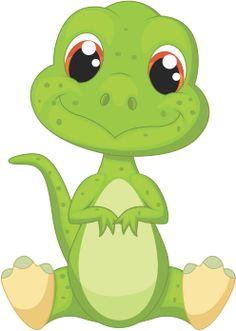 Cartoon Dinosaurs vector free