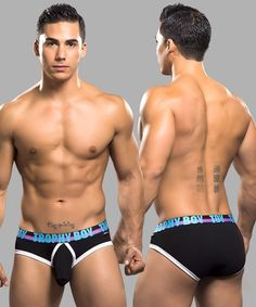 Andrew+Christian+Trophy+Boy+Men+Underwear+Briefs+-Black