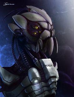 SR Bug Alien Head by Hazzard65