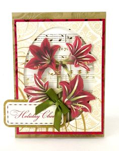 © Anna Griffin, Inc. Christmas Decoupage Die Cuts