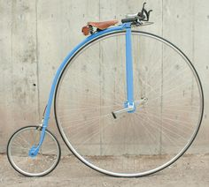 Penny Farthing Old Time Big Wheel Bikes :-o