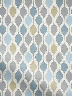 A cool blend of blues and greys with just the hint of olive green makes up this Retro Shapes sky blind. In an interesting 70s pattern it will give your home a bright and breezy look.br br What's mo...