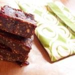 Chocolate-Cranberry 'LARA' Snack Bars #glutenfree #grainfree #paleo