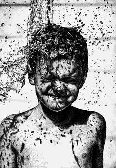 Splash! by Neil Brian, via Behance