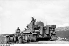 Swere Pz.Abt. 501- Tiger 142 ( Fgst .Nr . 250015 ) commanded by Hauptmann…