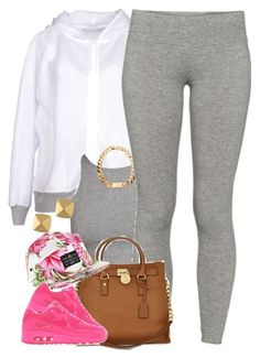 """Untitled #1448"" by power-beauty ❤ liked on Polyvore featuring adidas, TNA, Michael Kors, River Island, NIKE and Vince Camuto"