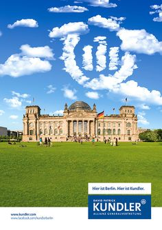 Werbekampagne- Allianz Generalvertretung David Patrick Kundler Berlin