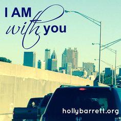 I AM with you | Holly Barrett