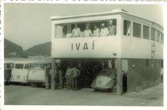 Ferry Boat Guaratuba. Anos 1960.