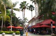 Lincoln Road Mall - Compras em Miami