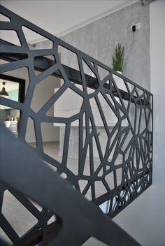 laser cut balustrades - parametric design  Focsani City - Romania
