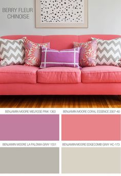 Caitlin Wilson Textiles: Paint Tips...I want these colors for my own personal closet/dressing room...when I get rich, of course...or maybe for Sky's room? These are just pretty colors together.