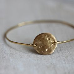 Full Moon Bangle Bracelet from Praxis Jewelry