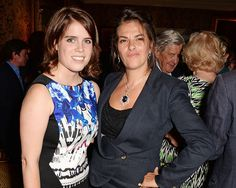 Princess Eugenie and boyfriend Jack Brooksbank look loved-up at Tracey Emin's…