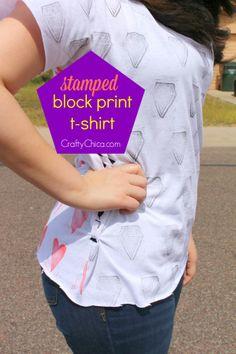 Stamped Block Print Shirt