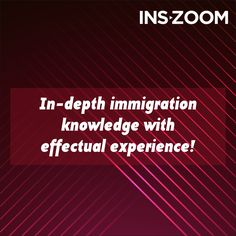 INSZoom's in-depth knowledge of immigration with effectual experience, confirms a great amount of proficiency in their solutions, globally. Visit http://www.inszoom.com/ to know more!