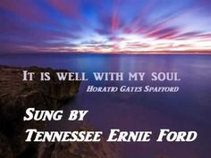 A Traditional hymn, sung by a superb voice. the way it ought to be sung. I made it for our small home group, to sing along with, during praise and worshi. Southern Gospel Music, Country Music, Tennessee Ernie Ford, Hymns Of Praise, Marty Robbins, Jim Reeves, Greatest Songs, Christian Music, Camera Phone