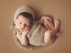 Newborn baby girl or boy hand knitted  Romper by MyLittleKnits