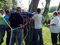 Teambuilding Spiele für Erwachsene: Teamgate