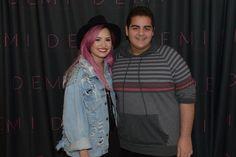 Demi Lovato Anaheim Meet & Greet Pix demi lovato Celebrity Anaheim