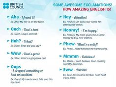 Forum | ________ Learn English | Fluent LandSome Exclamations! | Fluent Land