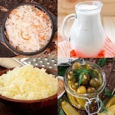 Kefir/Kombucha/Pickle Sauerkraut Miso/Tempeh/Natto/Kimchi/Raw Cheese/Yogurt