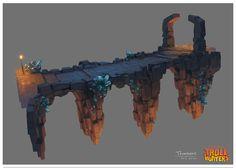Concept Arts do seriado Trollhunters, da DreamWorks, por Djahal   THECAB - The Concept Art Blog