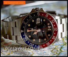 Timekeeping Icon: Rolex GMT-Master