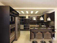 Arte e Design: Balcão na cozinha