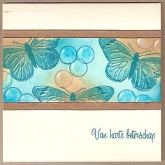 Beterschap Good Old, Projects To Try, Greeting Cards, Card Designs, Paper, Frame, Bugs, Gifts, Handmade