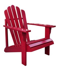 This Chili Pepper Westport Adirondack Chair by Shine Company Inc. is perfect! #zulilyfinds