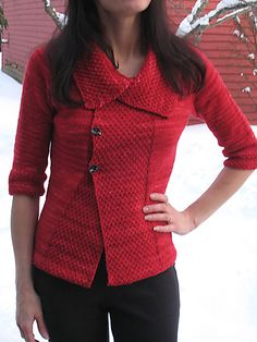 Mad Men Inspiration - The Inaugural Sweater by Mary Annarella, Lyrical Knits