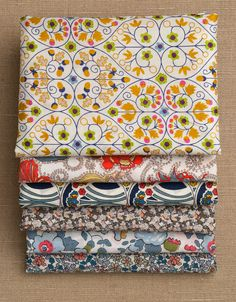 I want to cover everything I own in Liberty of London fabric.  I just need to win the lottery first!