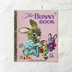 New in The Book Cottage: The Bunny Book | 1980s Vintage Childrens Easter Book | 80s Pink Rabbit Fiction Read | Illustrations by Richard Scarry | Cute Fun Kids Story by TheBookCottage